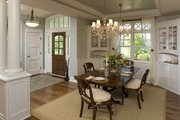 Traditional Style House Plan - 4 Beds 4 Baths 5342 Sq/Ft Plan #56-604 Interior - Dining Room