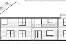Architectural House Design - Craftsman Exterior - Rear Elevation Plan #1073-13