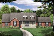 Traditional Style House Plan - 4 Beds 2 Baths 1901 Sq/Ft Plan #84-229 Exterior - Front Elevation