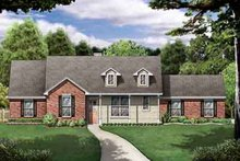 House Design - Traditional Exterior - Front Elevation Plan #84-229