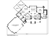Craftsman Style House Plan - 2 Beds 2 Baths 1836 Sq/Ft Plan #70-1192 Floor Plan - Main Floor Plan
