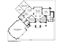 Craftsman Floor Plan - Main Floor Plan Plan #70-1192