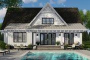 Farmhouse Style House Plan - 4 Beds 3.5 Baths 2584 Sq/Ft Plan #51-1147 Exterior - Rear Elevation