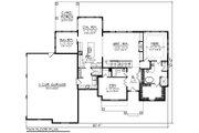 Farmhouse Style House Plan - 4 Beds 4 Baths 3205 Sq/Ft Plan #70-1469 Floor Plan - Main Floor Plan