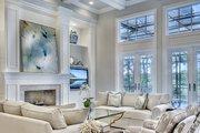 European Style House Plan - 5 Beds 3.5 Baths 3539 Sq/Ft Plan #930-486