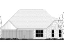 Craftsman Exterior - Rear Elevation Plan #430-148
