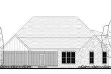 Craftsman Exterior - Rear Elevation Plan #430-148