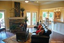 Home Plan - European Interior - Family Room Plan #929-904