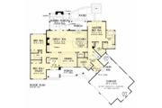 Craftsman Style House Plan - 3 Beds 2 Baths 2025 Sq/Ft Plan #929-1040 Floor Plan - Main Floor Plan