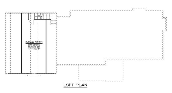 Ranch Floor Plan - Other Floor Plan Plan #1064-31