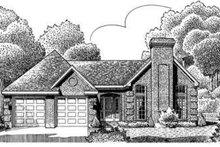 Dream House Plan - European Exterior - Front Elevation Plan #410-306