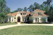 European Style House Plan - 5 Beds 4 Baths 3424 Sq/Ft Plan #417-380