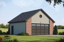 House Plan Design - Traditional Exterior - Front Elevation Plan #20-2311