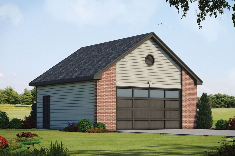 Traditional Exterior - Front Elevation Plan #20-2311