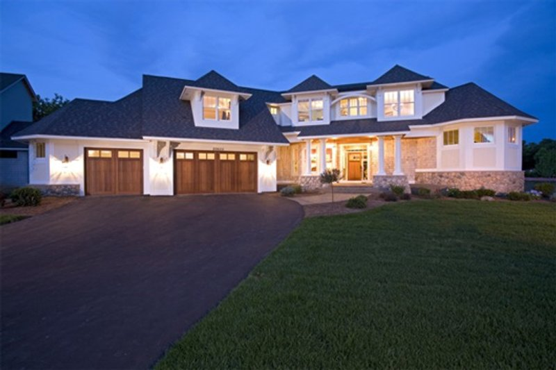Traditional Exterior - Other Elevation Plan #56-600 - Houseplans.com