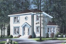 Dream House Plan - Colonial Exterior - Front Elevation Plan #23-2110