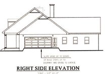 Southern Exterior - Other Elevation Plan #44-111