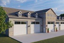Dream House Plan - Farmhouse Exterior - Front Elevation Plan #1060-83