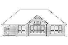 Craftsman Exterior - Rear Elevation Plan #48-410