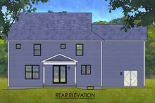 Architectural House Design - Traditional Exterior - Rear Elevation Plan #1010-243