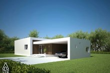 Modern Exterior - Other Elevation Plan #552-2