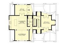 Traditional Floor Plan - Upper Floor Plan Plan #132-191