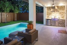 Contemporary Exterior - Outdoor Living Plan #1058-180
