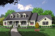Country Style House Plan - 3 Beds 2.5 Baths 1919 Sq/Ft Plan #40-370