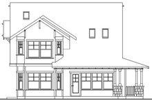Architectural House Design - Craftsman Exterior - Rear Elevation Plan #124-556