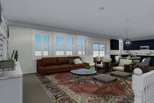 Traditional Interior - Family Room Plan #1060-67