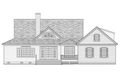 Farmhouse Style House Plan - 4 Beds 3 Baths 2556 Sq/Ft Plan #137-252 Exterior - Rear Elevation