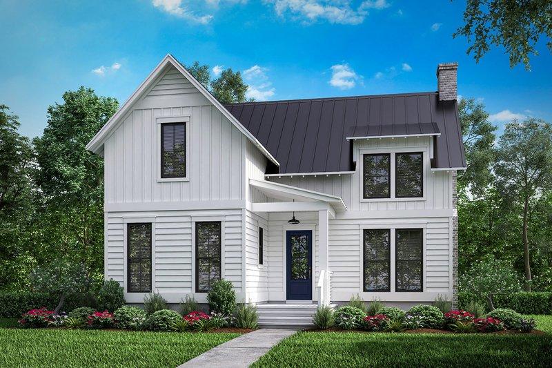 Architectural House Design - Farmhouse Exterior - Front Elevation Plan #430-180