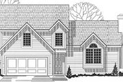 Traditional Style House Plan - 3 Beds 2 Baths 1392 Sq/Ft Plan #67-637