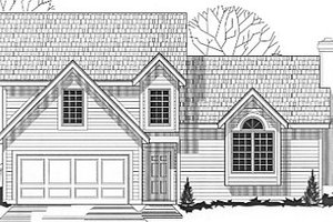 Traditional Exterior - Front Elevation Plan #67-637