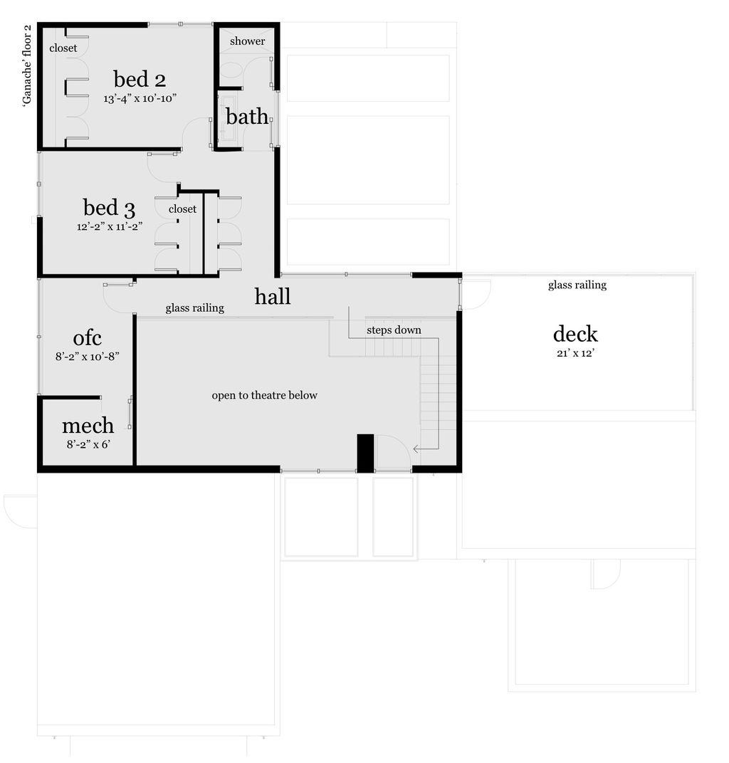 Modern Style House Plan 3 Beds 2 5 Baths 2459 Sq Ft Plan