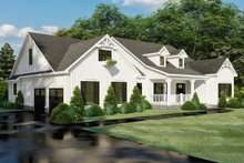 Dream House Plan - Farmhouse Exterior - Front Elevation Plan #923-157