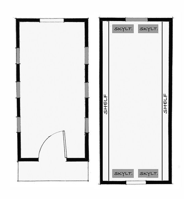 Cottage Floor Plan - Other Floor Plan Plan #896-3