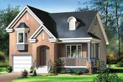 Traditional Style House Plan - 3 Beds 1.5 Baths 1652 Sq/Ft Plan #25-4246 Exterior - Front Elevation