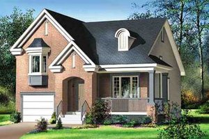 Traditional Exterior - Front Elevation Plan #25-4246