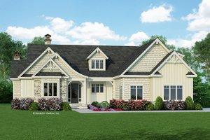 Craftsman Exterior - Front Elevation Plan #929-998