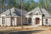 European Style House Plan - 3 Beds 2.5 Baths 2146 Sq/Ft Plan #430-136 Exterior - Front Elevation