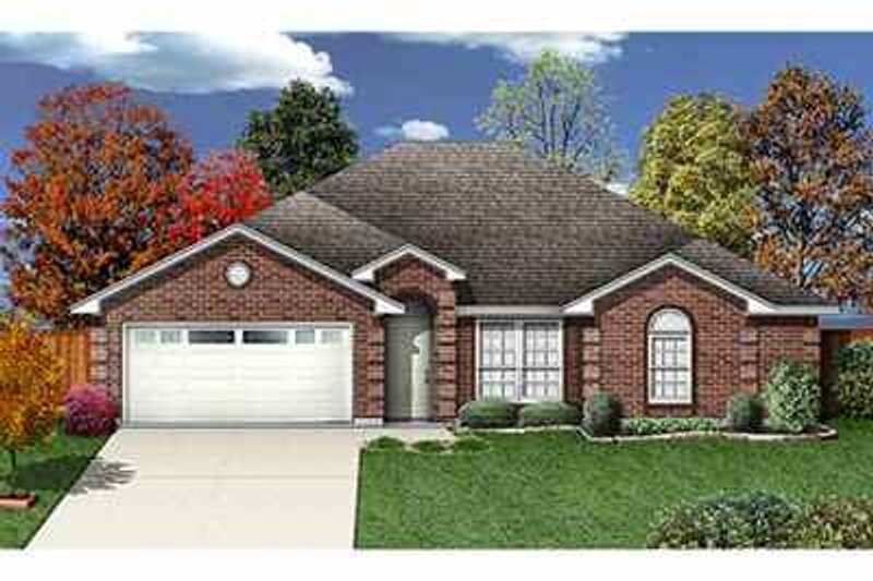 Traditional Exterior - Front Elevation Plan #84-122 - Houseplans.com