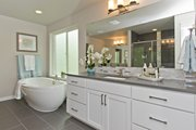 Contemporary Style House Plan - 5 Beds 3.5 Baths 3319 Sq/Ft Plan #569-38 Interior - Master Bathroom