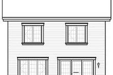 Traditional Exterior - Rear Elevation Plan #23-739