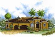 European Style House Plan - 4 Beds 3 Baths 2464 Sq/Ft Plan #27-436