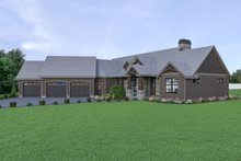 Craftsman Exterior - Other Elevation Plan #1070-68
