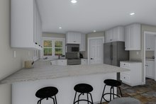 House Plan Design - Traditional Interior - Kitchen Plan #1060-58