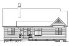 Traditional Exterior - Rear Elevation Plan #929-58