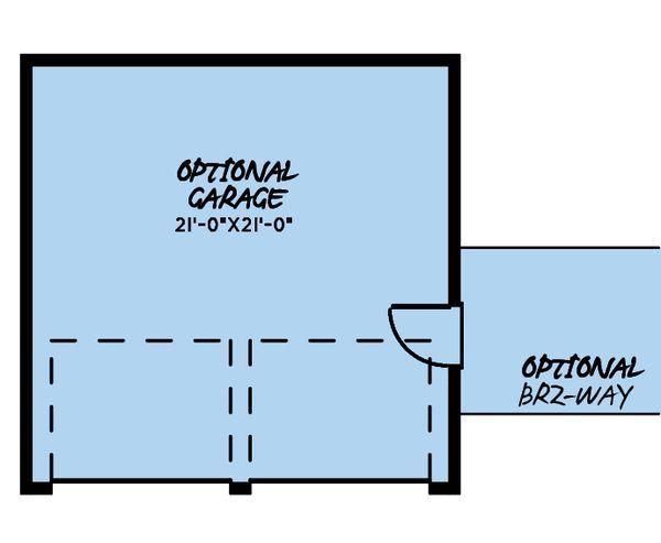 Craftsman Floor Plan - Other Floor Plan #923-178