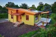 Modern Style House Plan - 2 Beds 1 Baths 800 Sq/Ft Plan #890-1